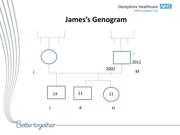 James's Genogram