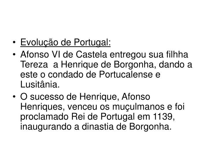 Evolução de Portugal: