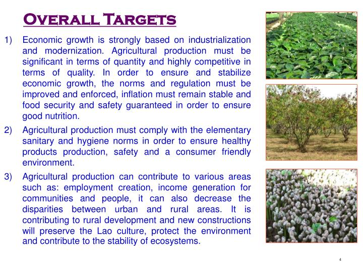 Overall Targets