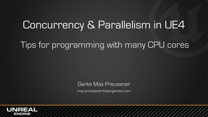 parallelism and concurrency In computer science, concurrency refers to the ability of different parts or units of a program, algorithm, or problem to be executed out-of-order or in partial order, without affecting the final outcome this allows for parallel execution of the concurrent units, which can significantly improve overall speed of the execution in multi-processor and multi-core systems.