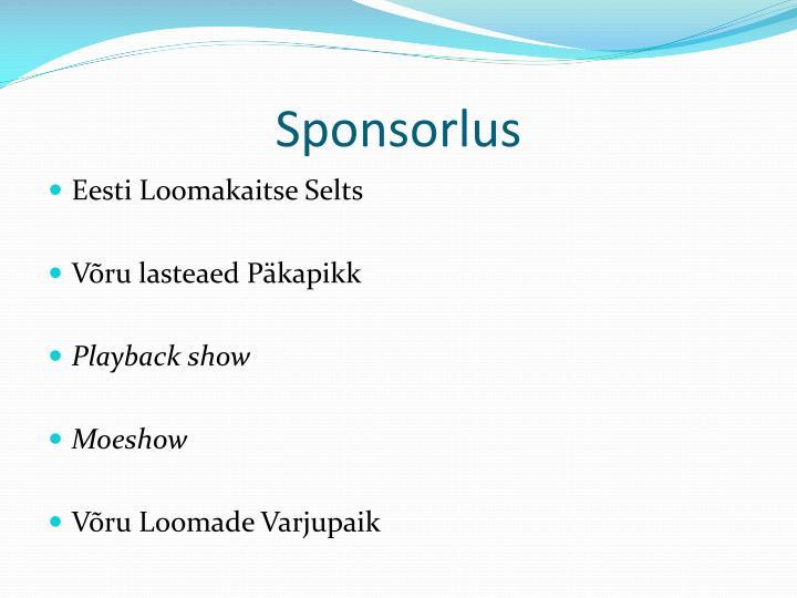 Sponsorlus