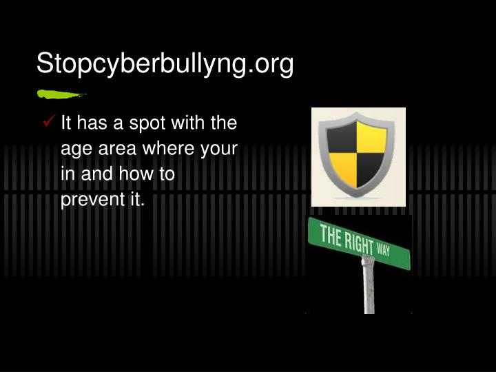 Stopcyberbullyng.org