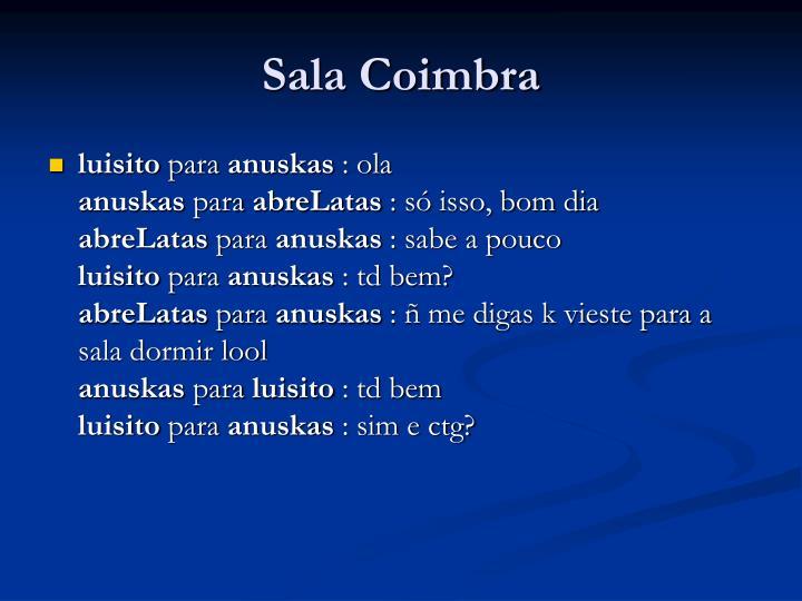 Sala Coimbra