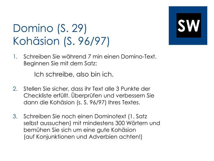 Domino (S. 29)