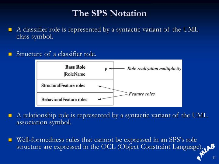 The SPS Notation