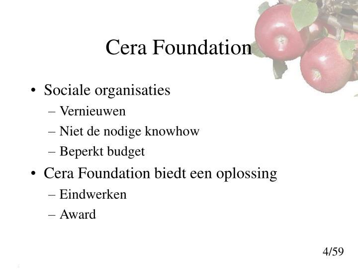 Cera Foundation