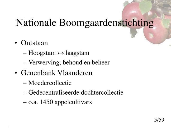 Nationale Boomgaardenstichting