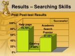 results searching skills2