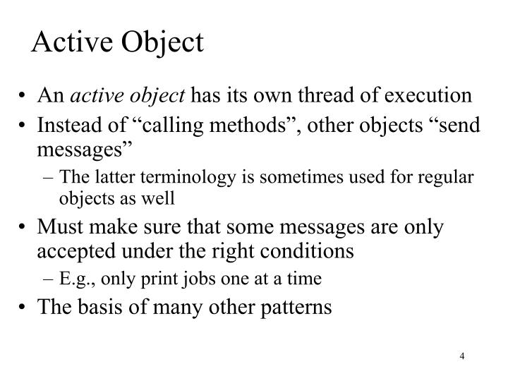 Active Object