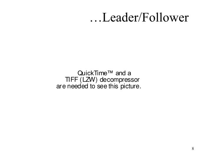 …Leader/Follower