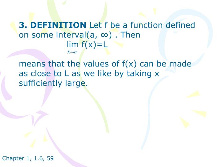 3. DEFINITION