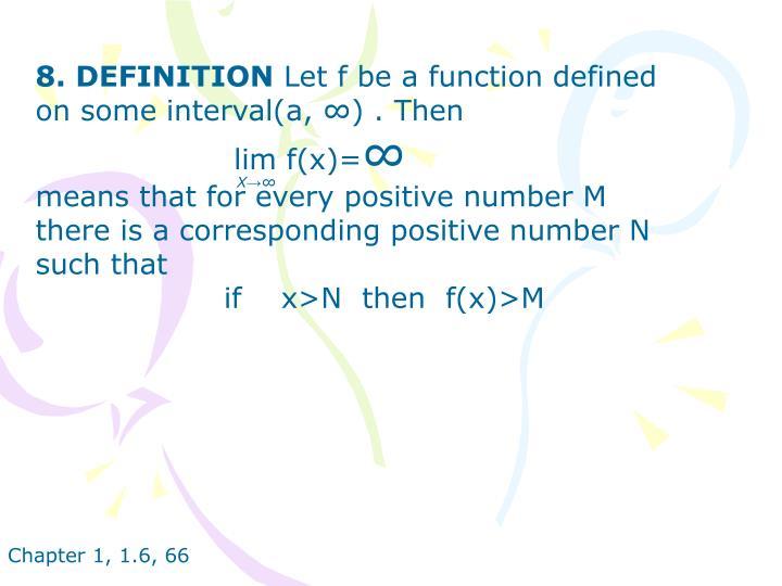 8. DEFINITION