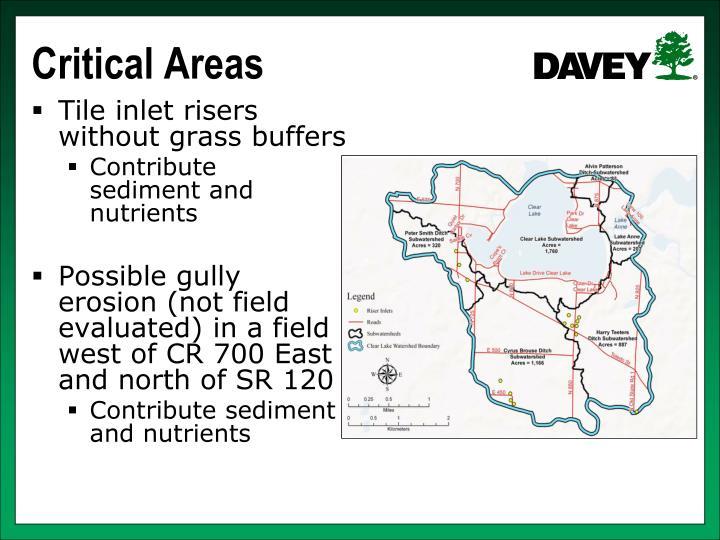 Critical Areas