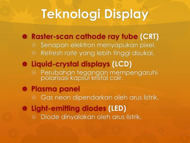 Teknologi Display