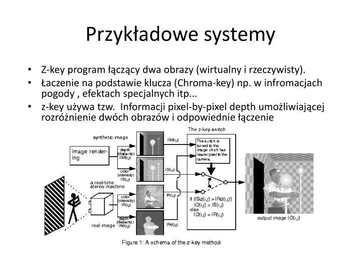 Przykładowe systemy