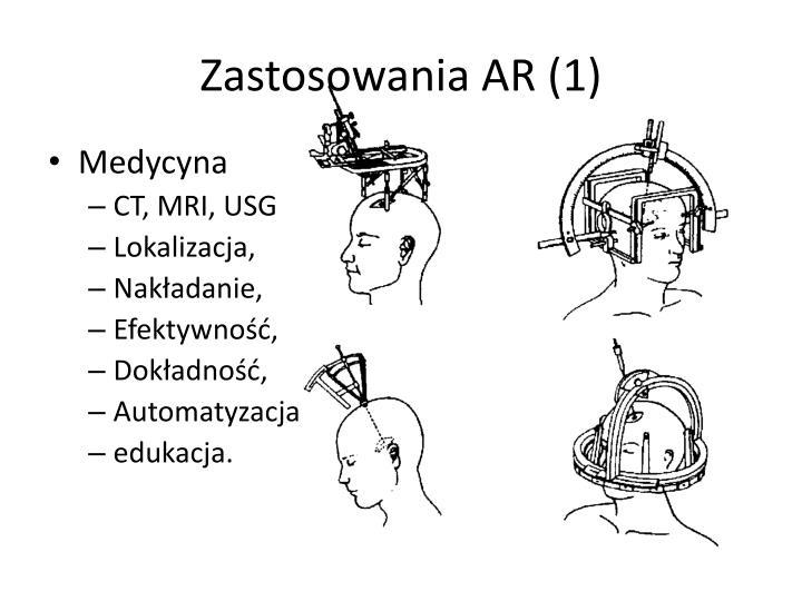 Zastosowania AR (1)