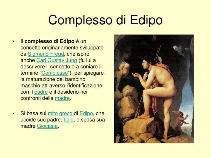 Complesso di Edipo