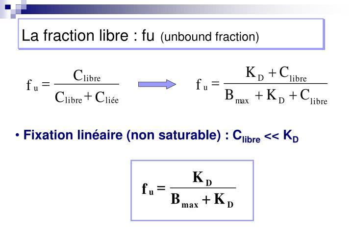 La fraction libre : fu