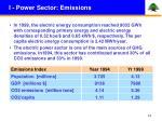 i power sector emissions