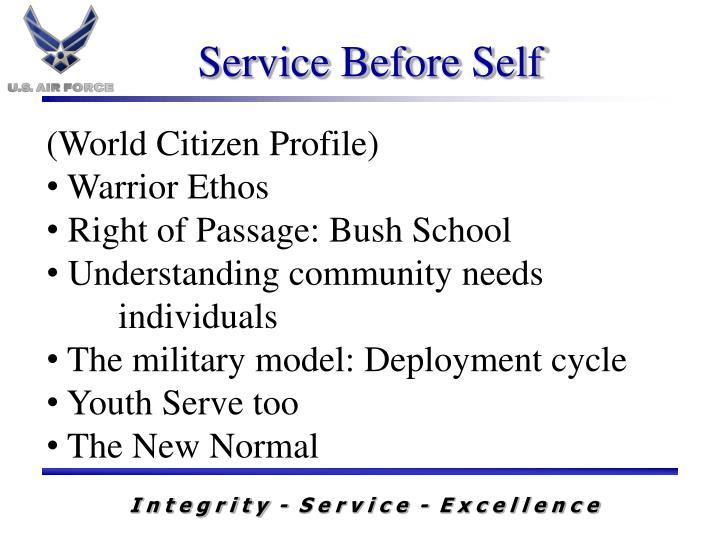 (World Citizen Profile)