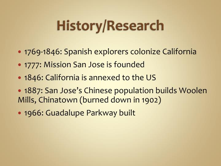 History/Research
