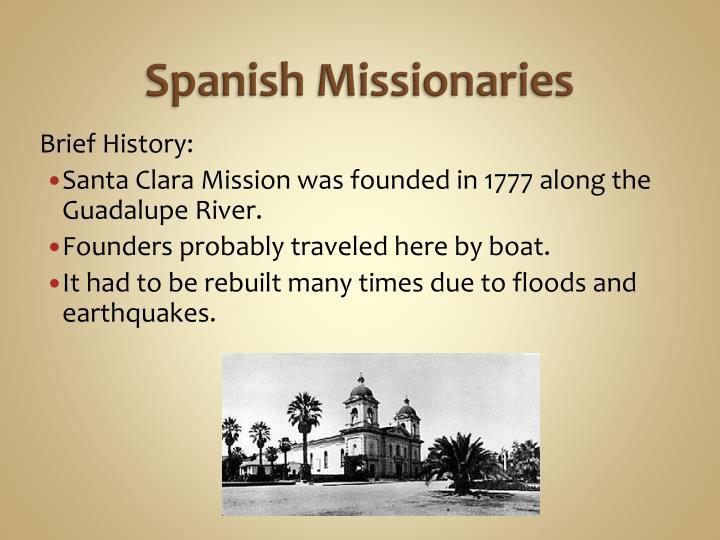Spanish Missionaries