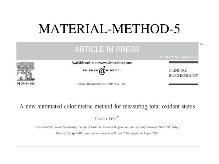 MATERIAL-METHOD-5