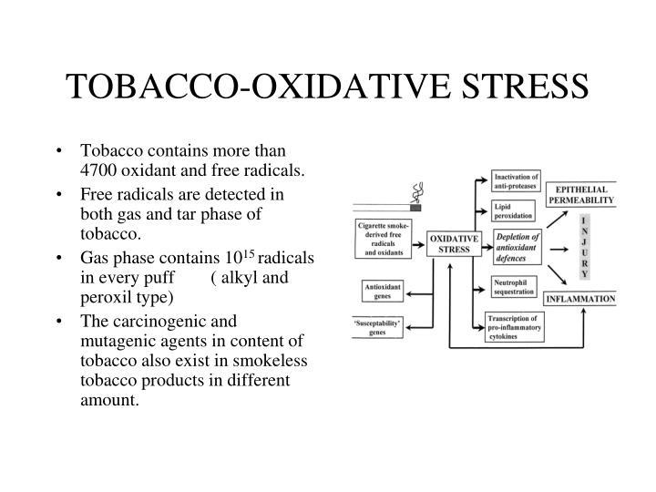 TOBACCO-OXIDATIVE STRESS