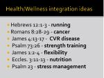health wellness integration ideas1