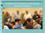 academy of construction and design business partners