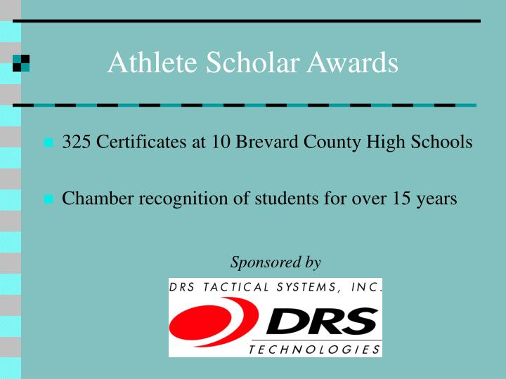 Athlete Scholar Awards