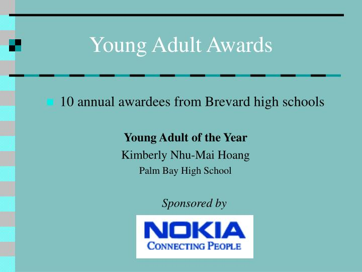 Young Adult Awards