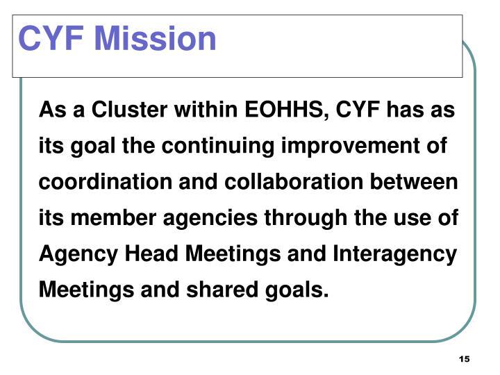 CYF Mission