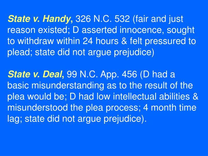 State v. Handy