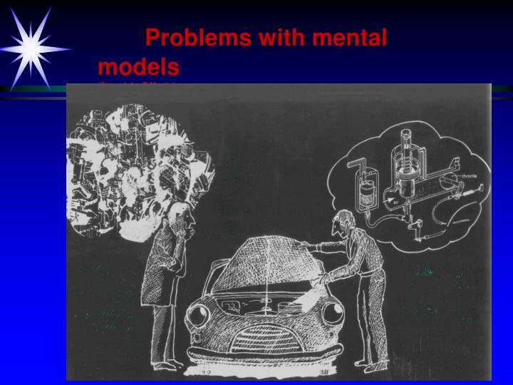 Problems with mental models