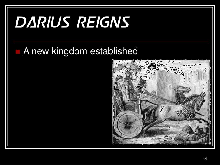 Darius Reigns
