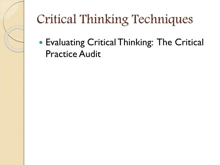 Barriers to Critical Thinking  Critical thinking image gif