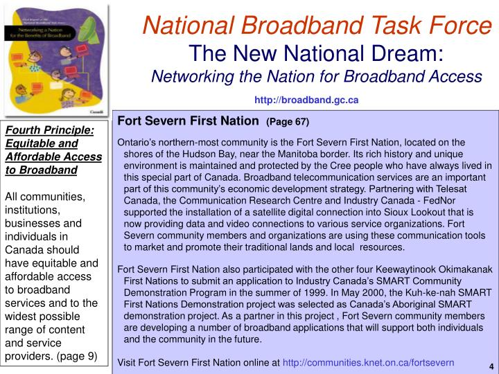 National Broadband Task Force