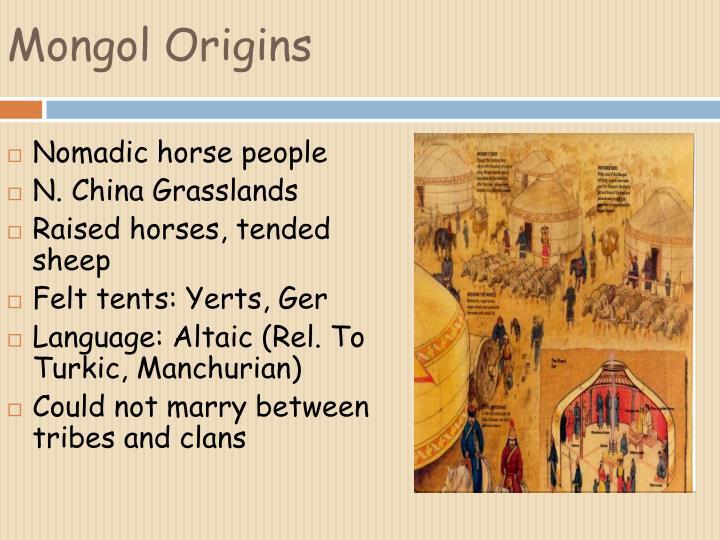 Mongol Origins