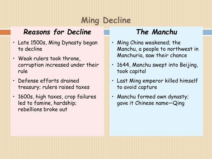The Manchu