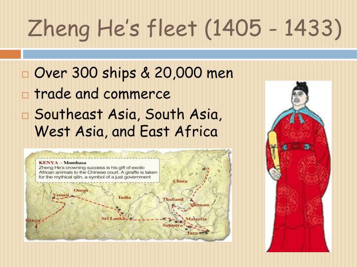 Zheng He's fleet (1405 - 1433)
