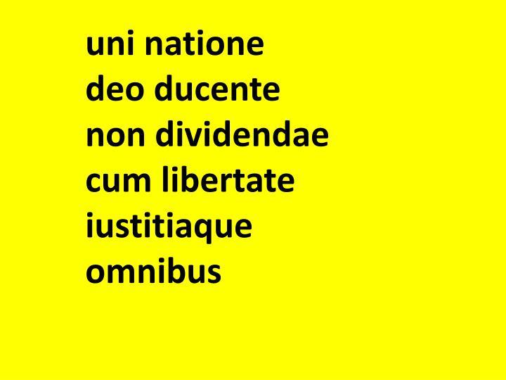 uni natione