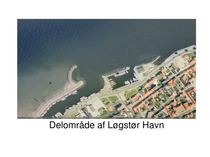 Delområde af Løgstør Havn