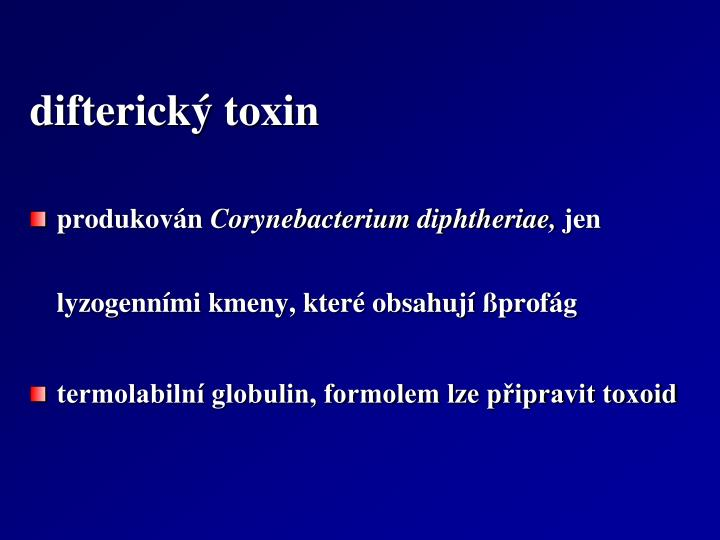 difterický toxin