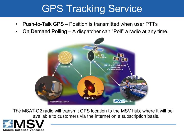 GPS Tracking Service