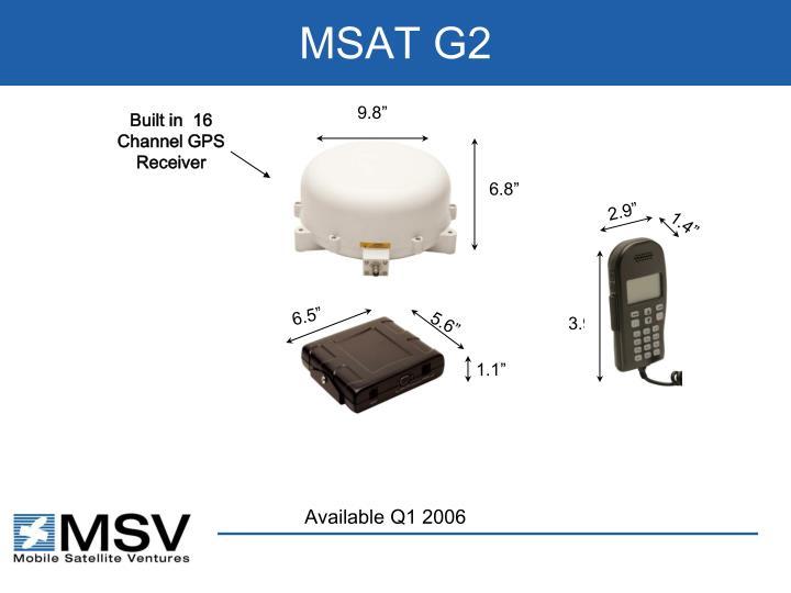 MSAT G2