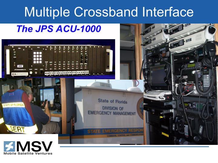 Multiple Crossband Interface