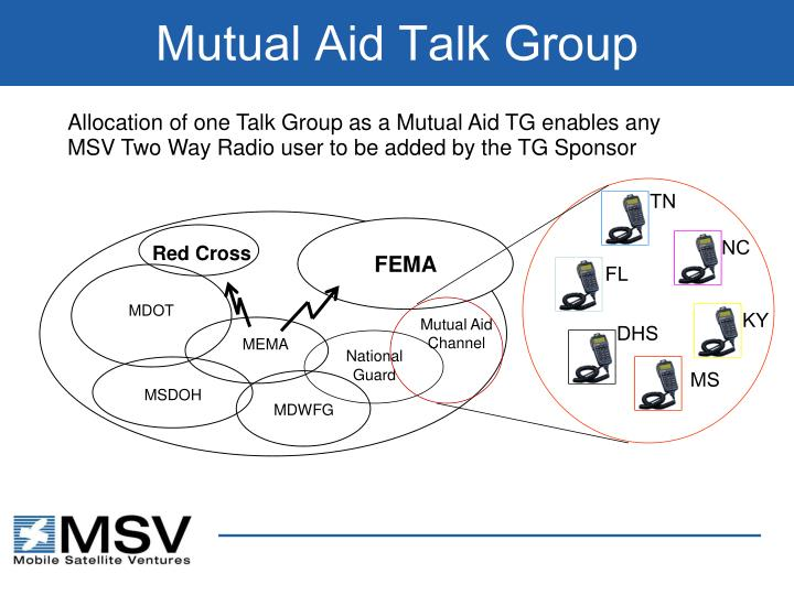 Mutual Aid Talk Group
