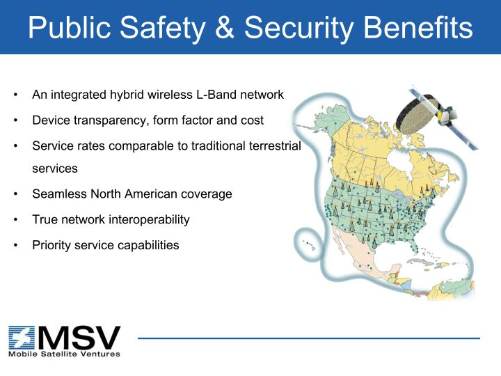 Public Safety & Security Benefits
