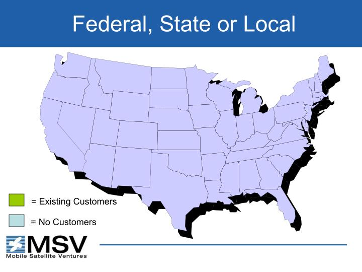 Federal, State or Local